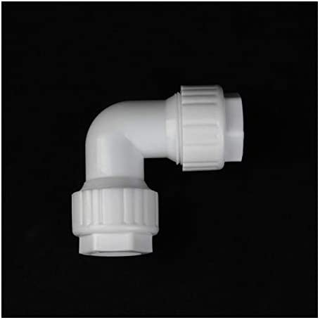 Pipe Accessories Repair Accessories 10pcs POM 20mm Pipe Elbow Connector Quick Connector PVC Water Pipe Fittings Garden Irrigation Systems Adapter (Diameter : Inner Diameter 20mm)