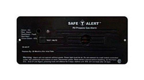 Safe T-alert Flush Mount (SAFE T ALERT 30-442-P-BL RV Trailer Classic Lp Gas Alarm Flush Mount Black)