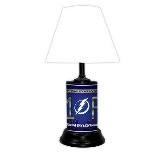Tampa Bay Lightning Table Lamp, Lightning Table Lamp