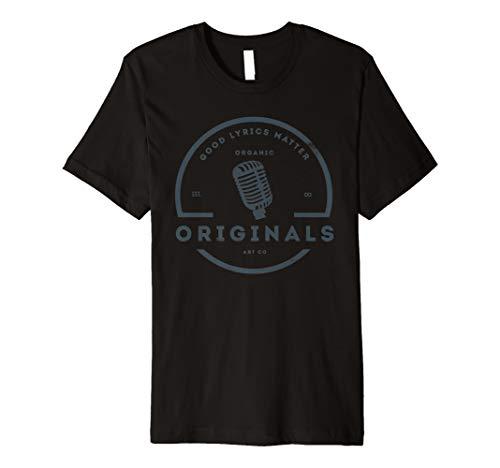 Music Lyrics Matters - Vintage Style Music   Good Lyrics Matter T-Shirt
