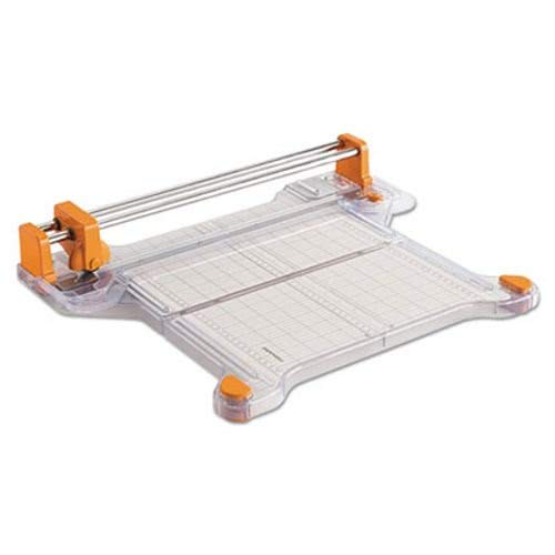Bypass Rotary Trimmer - Fiskars Procision Bypass Rotary Trimmer, 20 Sheets, 12 1/2