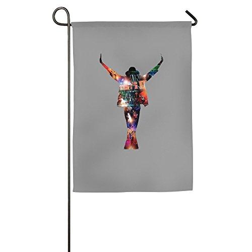 DEJML Custome King Of Pop Michael Garden Flag -