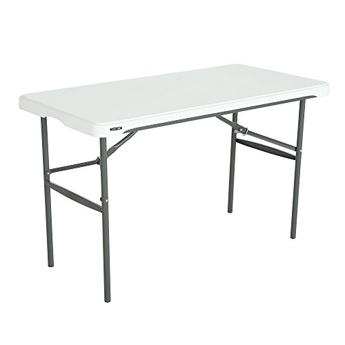 Lifetime 280478 Commercial Nesting Folding Table, 4 Foot (Folding Table Stacking)