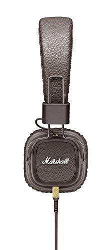 【 限定】Marshall 【国内正規品】 ヘッドホン (オリジナルステッカー付) Major II Brown ZMH-04091112-A ZMH-04091112-A B07GJP868K