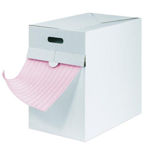Aviditi Polyethylene Anti-Static Air Foam Dispenser Pack, 175' L x 12