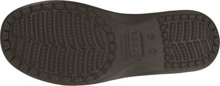 crocs Mens 14756 Santa CZ Sde Loafer,Espresso/Espresso,12 M US Chocolate/Chocolate