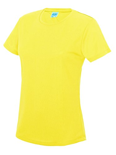 Direct 23 Ltd - Camisa deportiva - para mujer Electric Yellow