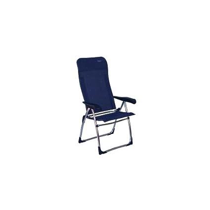 Crespo - Silla Plegable (Respaldo Alto), Color Azul: Amazon ...