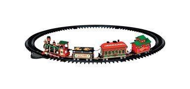 Lemax 24472 Village Yuletide Express Battery Operated Train, 4.5 - Village Lemax Houses
