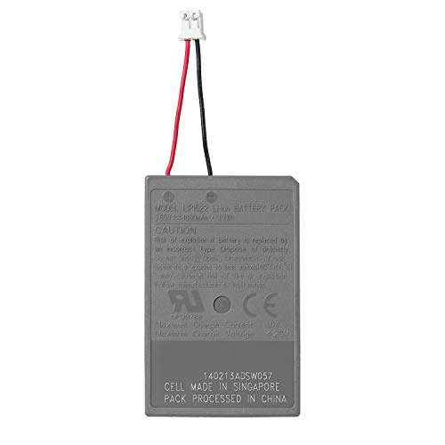 OSTENT 3.65V 1000mAh LIP1522 Rechargeable Li-ion Battery Pack for Sony PS4 Bluetooth Wireless Dual Shock Controller CUH-ZCT1 Series (CUH-ZCT1E/CUH-ZCT1U) First Generation Old Version Big Connector