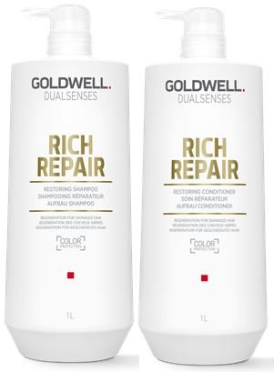 Rich Repair Restoring Shampoo & Conditioner Duo Healthy Shiny Nourished - 33.8oz ()