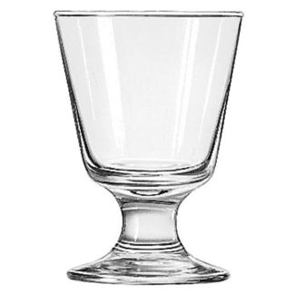 (SEPSMWLIB3747 - Libbey 7 Ounce Embassy Footed Rocks Glass)