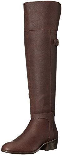 A2 by Over Boot Knee the Aerosoles Mysterious Brown Women's zUw71qz