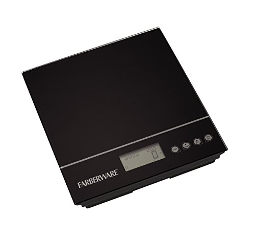 Farberware 5122579 Professional Electronic Kitchen Scale, Black