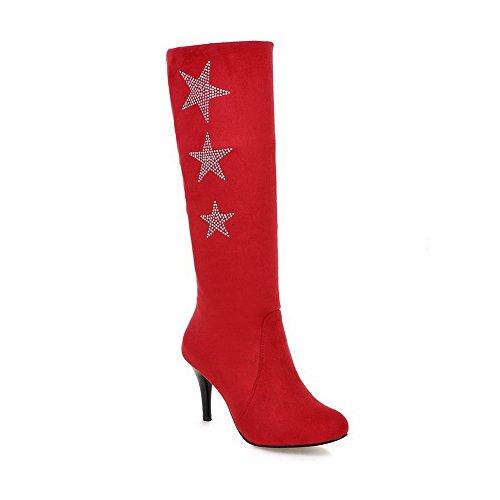 BalaMasa Abl09718 Sandales Compensées Femme Rouge Red, 37.5 EU, ABL09718