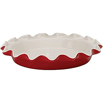 Rose Levy Beranbaum's Perfect Pie Plate, 9-Inch, Ceramic, Rose