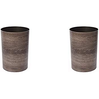 Umbra Treela Small Trash Can  Durable Garbage Can Waste Basket for Bathroom