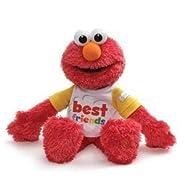 """GUND Sesame Street Best Friend Talking Elmo, 8.5"""""""