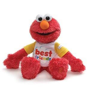 GUND Sesame Street Best Friend Talking Elmo, 8.5
