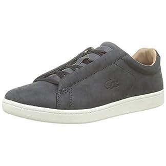 Lacoste Herren Carnaby Evo Easy 319 1 SMA Sneaker, Schwarz (Black/Offwhite 454), 43 EU 13