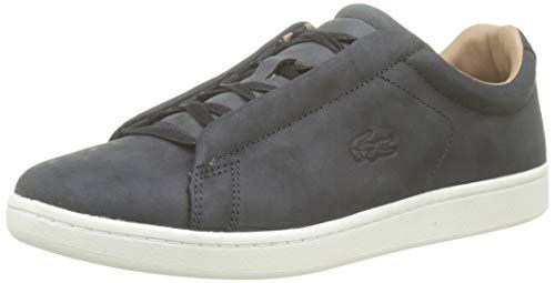 Lacoste Herren Carnaby Evo Easy 319 1 SMA Sneaker, Schwarz (Black/Offwhite 454), 43 EU 1