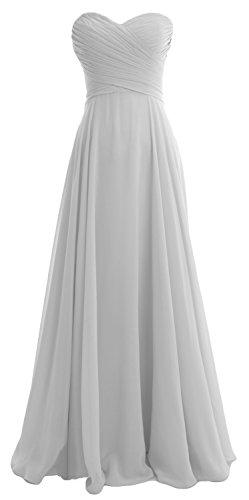 macloth–Robe–Ligne à à–Sans Manches–Femme -  argent - 48