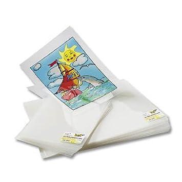 35 x 50 cm folia 420350 Mobilefolie transparent 0,2 mm 10 Bogen