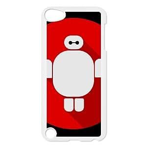 J3X25 Baymax Q6T4FV minimalista funda iPod Touch funda 5 casos cubre DM6BON1QA blanco