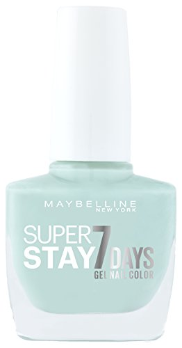Maybelline Forever Strong Super Stay 7 Days Gel Nail Colour (Mint for life 615) 10 ml (7 Day Nail Polish)