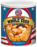 Fresh and Honest Foods Dehydrated Whole Eggs 40 OZ #10 Can