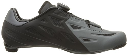 Pearl Izumi Men's Elite Road V5 Cycling-Footwear, Black/Shadow Grey, 39 EU/6.1 D US