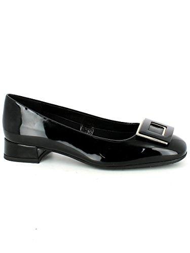 THE FLEXX Las bailarinas zapatos con tacones B252_04 NEGRO NEGRO