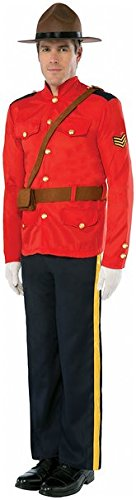 Royal Canadian Mountie Mounted Police Adult - Costume Mountie
