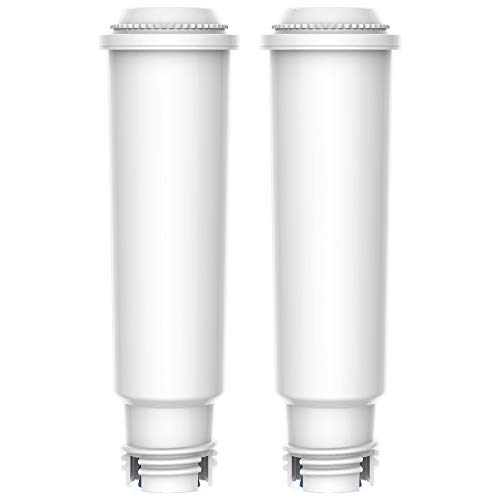 AQUACREST TÜV SÜD Certified F088 Coffee-Machine Water Filter Replacement for Krups Claris F088, XP5220, XP5240, XP5280, XP5620, EA82 and EA9000 - Including Various Models of AEG, Bosch, Siemens, Gaggenau, Nivona, Melitta, Neff, Cocoon (Pack of 2) (Best Price Neff Appliances)