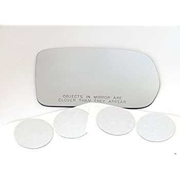 Door Mirror Glass New Replacement Driver Side For Mazda Protégé 97-03