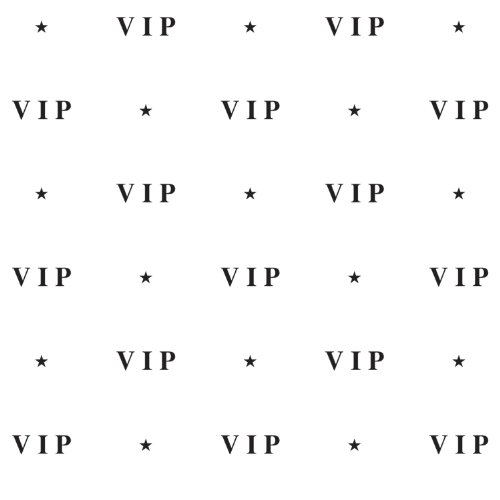 VIP Backdrop Party Accessory count