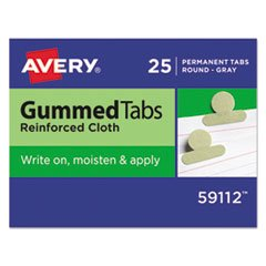 /2 in, Gray, 25/Pack, Total 48 PK, Sold as 1 Carton ()