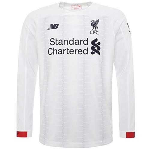 - New Balance 2019-2020 Liverpool Away Long Sleeve Football Soccer T-Shirt Jersey