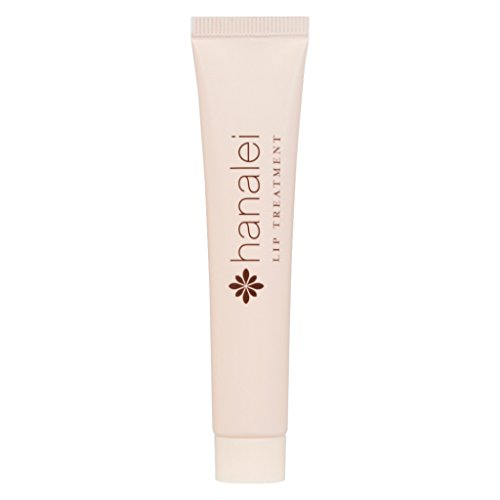 Lip Treatment by Hanalei, Made with Kukui Oil, Shea Butter, Agave, and Grapeseed Oil Soothe Dry Lips, (Cruelty free, Paraben Free) MADE IN USA. Clear (15g/15ml/0.53oz)