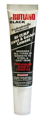 Rutland Products Rutland Stove Gasket Cement, 2.3-Ounce Tube, Black