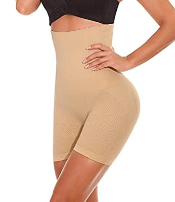 SEXYWG Womens Shapewear Tummy Control Panties Thigh Slimmer Butt Lifter Power Shorts