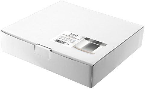 H&H cuivre Sauteuse 2poignées, Acier Inoxydable, Gris