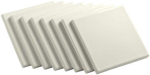 Kohler K-14207-96 Solid-Color Field Tile, Biscuit ()