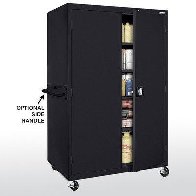 Sandusky Lee TA4R462472-09 Transport Series Mobile Storage Cabinet, - Storage Mobile Transport