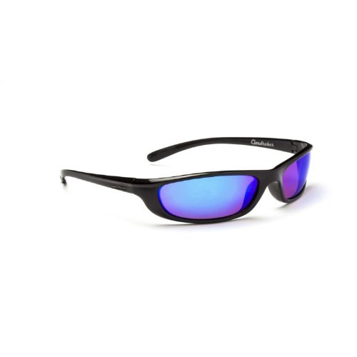 UPC 780207113047, Optic Nerve Cloudraker Sunglasses, Flash Black, Polarized Brown with Zaio Blue