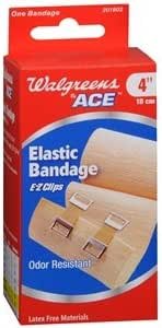Amazon Com Walgreens Bandage With Clips 4 Inch 1 Ea Everything Else
