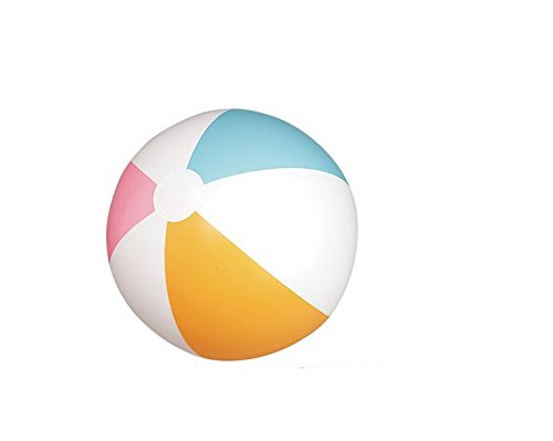 One Dozen Traditional Six Panel 20'' BEACH BALL ~ 12 Inflatable Beach Balls Approx 20'' ~ Fun for Pool Beach Party Birthday Favors Wedding Carnivals ~ Outdoor Summer Fun ~ New (Wedding Beach Balls)
