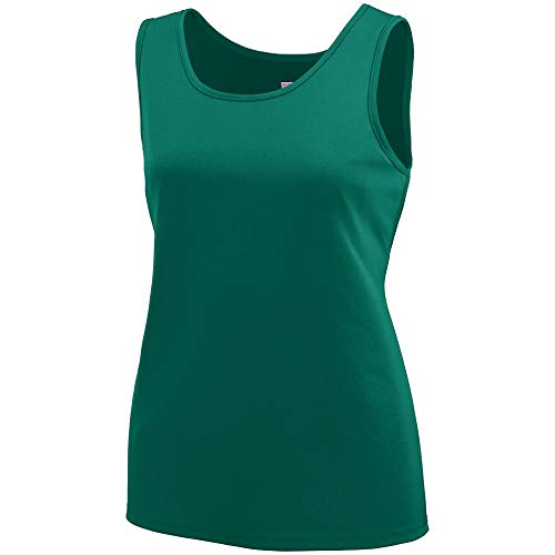 Augusta Sportswear Girls' Training Tank M Dark Green