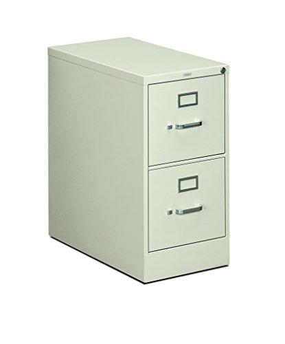 (HON 312PQ 310 Series 26-1/2-Inch 2-Drawer Full-Suspension Letter File, Light Gray)