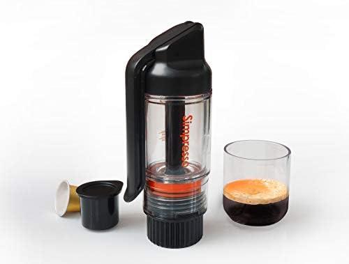 Simpresso Portable Espresso Maker Compact Travel Coffee Maker Compatible